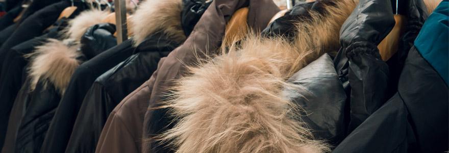 vêtements d'homme Manteaux d'hiver